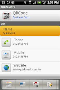 QuickMark Lite QR Code Reader - screenshot thumbnail