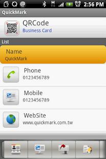 QuickMark Lite QR Code Reader - screenshot thumbnail
