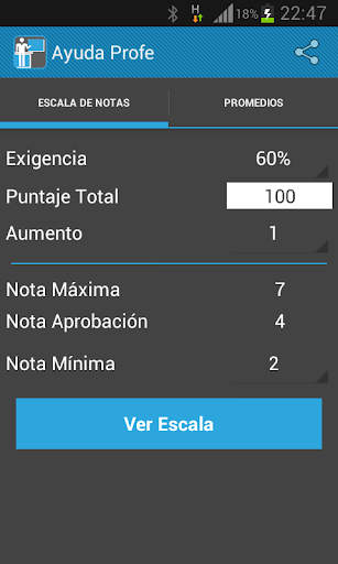 免費下載教育APP|Ayuda Profe Pro (Escala Notas) app開箱文|APP開箱王