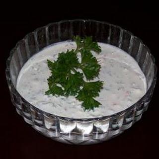 Blue Cheese Garlic Dip