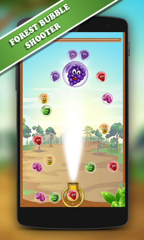 Fruit Bubble ShootUp Game- screenshot