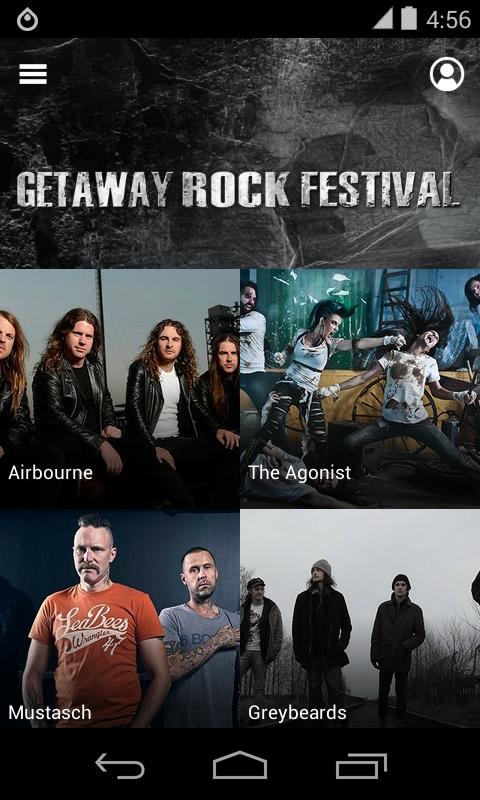 Getaway Rock Festival 2014 - screenshot