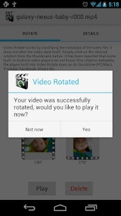 Video Rotate - screenshot thumbnail