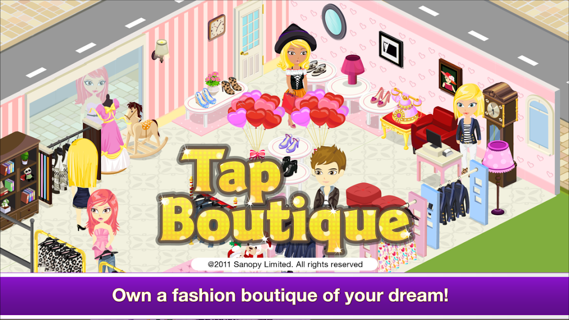 #9. Tap Boutique - Girl Fashion (Android)