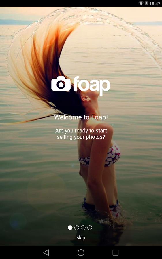 Foap - sell your photos - screenshot