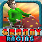 Granny Racing ( 3D Fun Game)
