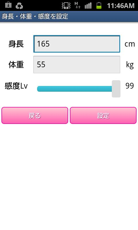 Pedometer Walking Diet- screenshot