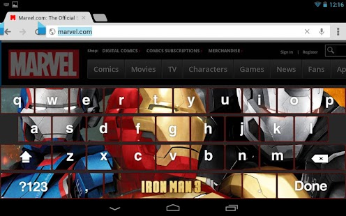 Iron Man 3 Keyboard APK for Blackberry | Download Android APK GAMES