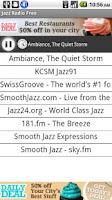 Screenshot of Jazz Radio Free