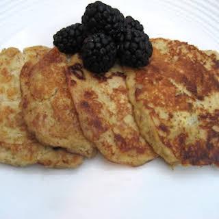Almond Banana Pancakes.