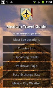 Mexico Offline Travel Guide- screenshot thumbnail