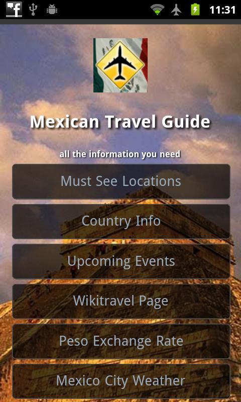 Mexico Offline Travel Guide- screenshot