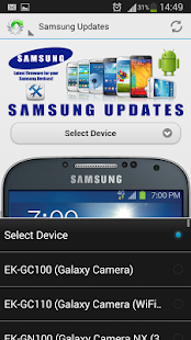 Samsung firmware Updates - screenshot thumbnail