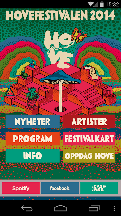 Hovefestivalen - screenshot