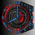 Digital Planet Clock icon