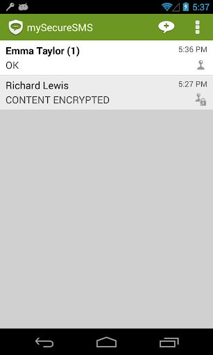 My Secure SMS - 安全短信應用