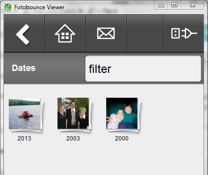 Fotobounce Desktop Viewer- screenshot