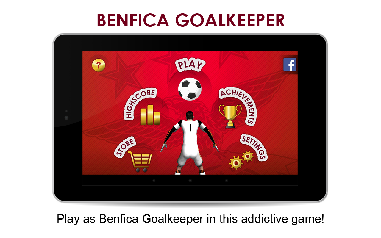 SL Benfica Goalkeeper- screenshot