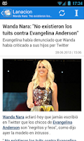 Screenshot of Argentina Noticias