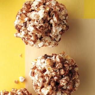 Toffee-Almond Popcorn Balls