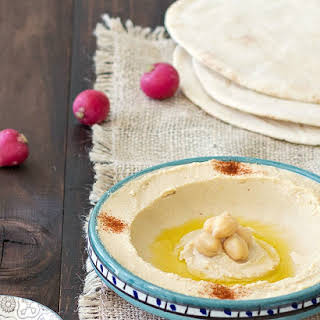 Homemade Lebanese Hummus.