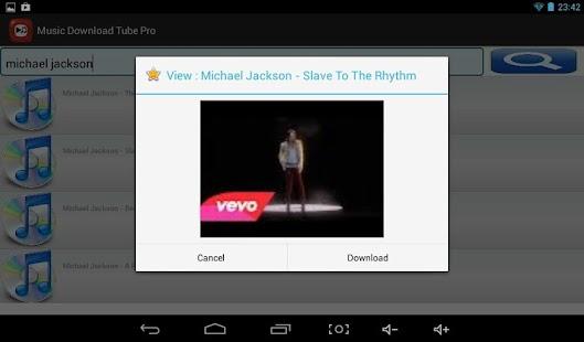 Music Download Tube Pro - screenshot thumbnail