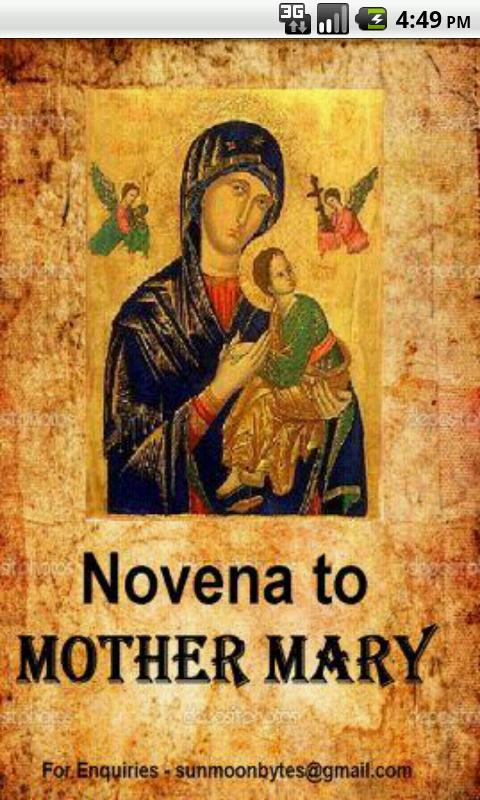 Mother Marys Novena Prayers- screenshot