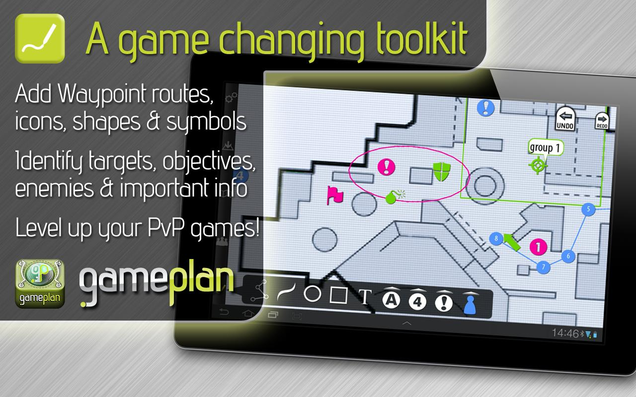 GamePlan: strategy & tactics - screenshot