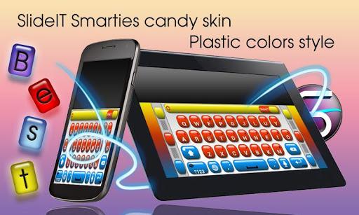 SlideIT Smarties Candy Skin