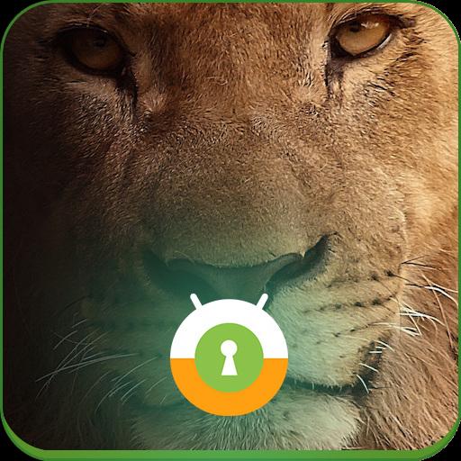 Lion Lock Screen LOGO-APP點子