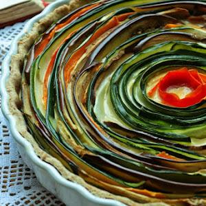 Spiral Vegetable Pie