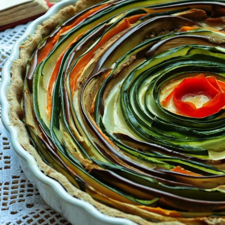 Spiral Vegetable Pie Recipe