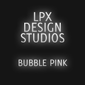 GOSMSTHEME Bubble Pink