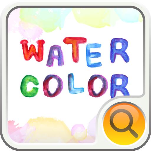 watercolor  検索ウィジェット 個人化 App LOGO-硬是要APP