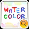 watercolor Search Widget
