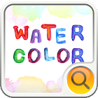 watercolor Search Widget icon