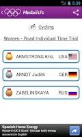 Screenshot of Medalists London 2012