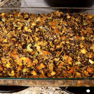 Wild Rice and Cornbread Stuffing.