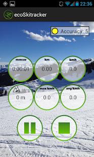 Eco Ski - Snowboard tracker