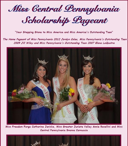 The Miss Central PA Pageant