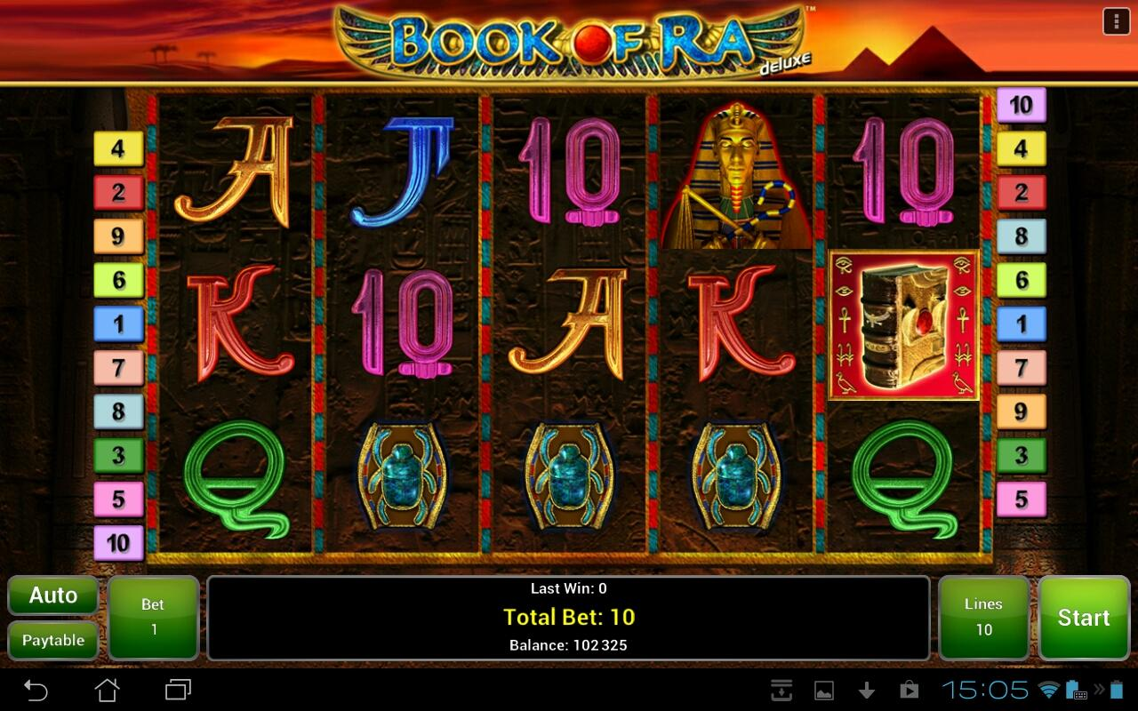 demo slot book of ra deluxe