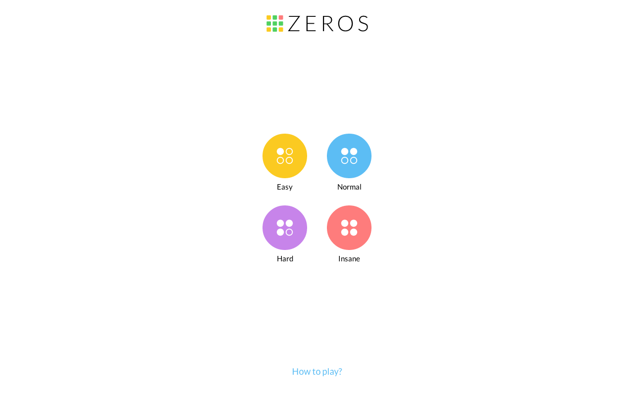 Zeros?- screenshot
