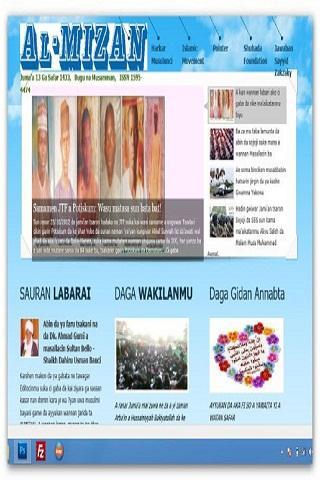 AlMizan - Hausa Newspaper
