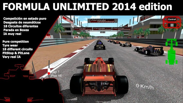 Formula Unlimited 2014 - screenshot