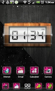 THEME - Pink Zebra Butterfly- screenshot thumbnail