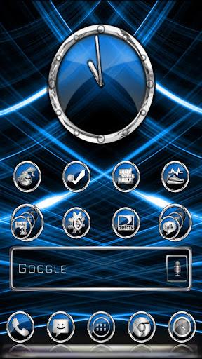 CrystalX HD Multi Theme Blue