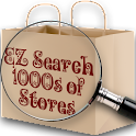 EZ Search 1000s of Stores logo