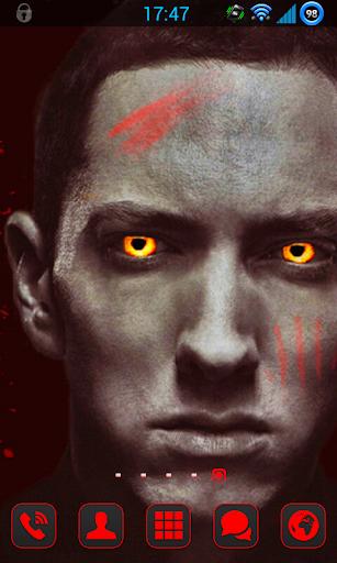 Eminem POGU GO Launcher Theme