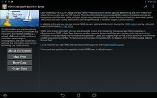 Screenshot of NOAA Smart Buoys