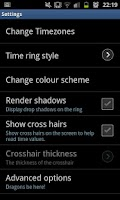 Screenshot of ChronoZone Time Zone Reckoner